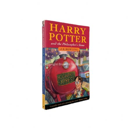 Harry Potter and the Philosopher's Stone  J.K. Rowling First Edition First Printing Bloomsbury 1997